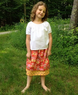 Betsy's Simple Skirt